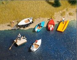 1157 Набор лодок - фото 10688