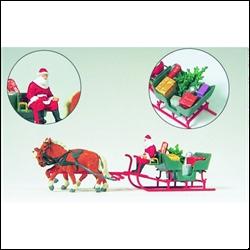 30448 Сани с Санта Клаусом - фото 10983