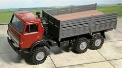 RUSAM-KAMAZ-4310-24-350 Автомобиль КамАЗ 4310 высокий борт (красный), 1:87, 1979, СССР - фото 13495