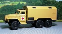 RUSAM-URAL-4320-30-403 Автомобиль санитарный УРАЛ 4320 кунг тип 2, 1:87, 1977, СССР - фото 13502