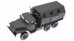 RUSAM-URAL-4320-32-000 Грузовой автомобиль УРАЛ 4320 кунг, 1:87, c 1977, СССР - фото 13503