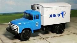 RUSAM-ZIL-130-44-608 Автомобиль ЗИЛ 130 термо-кунг холодильник «МЯСО», 1:87, 1963—1986, СССР - фото 13514