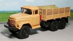 RUSAM-ZIL-131-23-440 Автомобиль грузовой ЗИЛ 131 высокий борт с грузом в кузове, 1:87, 1966—2002, СССР - фото 13523