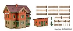 43529 Дом обходчика с курятником и садовым забором - фото 13739