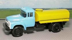 RUSAM-ZIL-130-65-640 ЗИЛ 130 для полива (жёлтая цистерна), 1:87, 1963—1986, СССР - фото 14081
