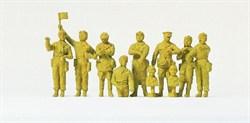 72526 Экипаж танка. СССР 1942. 10 фиг. - фото 3929