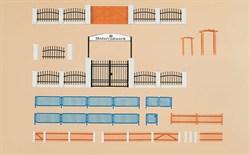 42648 Забор с воротами (H0/TT) - фото 5528