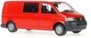 11514 VW T5 полугрузовой (красный)