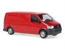 11521 VW T5 грузовой длинный (красный)