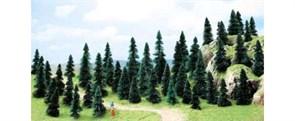 6597 Ели деревья 30-50мм (50шт.)