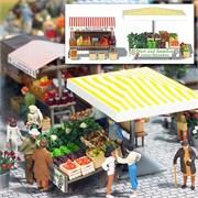 1071 Овощной рынок 2 (без фигурок)