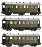 64690-64691-64692 Пассажирский состав (3 вагона), H0, II, DRG