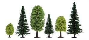 26911 Смешанный лес деревья 50-140мм (10шт.)