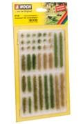 07125 Кусты(18), полоски травы(18) h-6mm