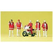 10100 Сотрудники МЧС, мотоцикл
