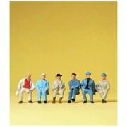 14145 Сидящие рабочие ( без скамеек )
