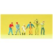 14075 Рабочие с кувалдами