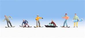 15826 Сноубордисты