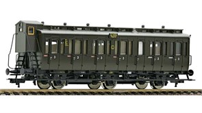 507007 Пассажирский вагон C3 pr11 3 кл., H0, II, DRG