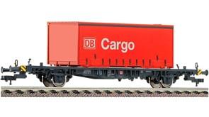 523402 Платформа Lgjs 598 с контейнером «Cargo», H0, V, DB AG