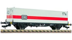 524002 Платформа Lgjs 598 с 40-футовым контейнером «DB», H0, IV, DB