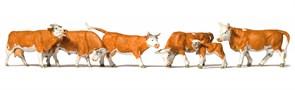 10146 Коровы рыжие