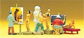 10106 Художники, модели, скульптор
