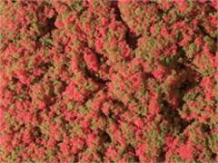 76932 Луг с красными цветами (мат 90х150мм) Флок