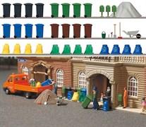 1136 Набор мусорных контейнеров, мешков