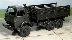 RUSAM-KAMAZ-4310-20-800 Грузовой автомобиль КамАЗ 4310 высокий борт (чёрный), 1:87, 1979, СССР