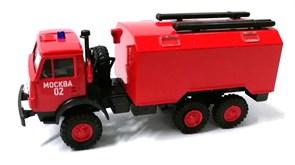 RUSAM-KAMAZ-4310-50-222 Автомобиль пожарной службы КАМАЗ 43102, 1:87, 1979, СССР