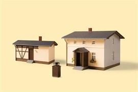 11457 Переездная будка с подсобным зданием