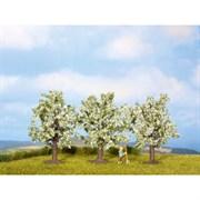 25111 Фрукт.дерево цветущее, 8см (3шт), деревья