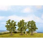 25510 Фруктовое дерево зеленое, 4,5см (3шт), деревья