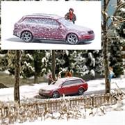 7859 Авто в снегу + фигурка