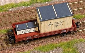 1685 Наполнение товарного вагона (деревянные ящики)
