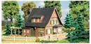 12259 Деревянный дом ЭРИКА (Н0/ТТ)